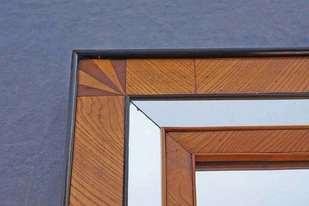 Detail Biedermeier-Spiegel