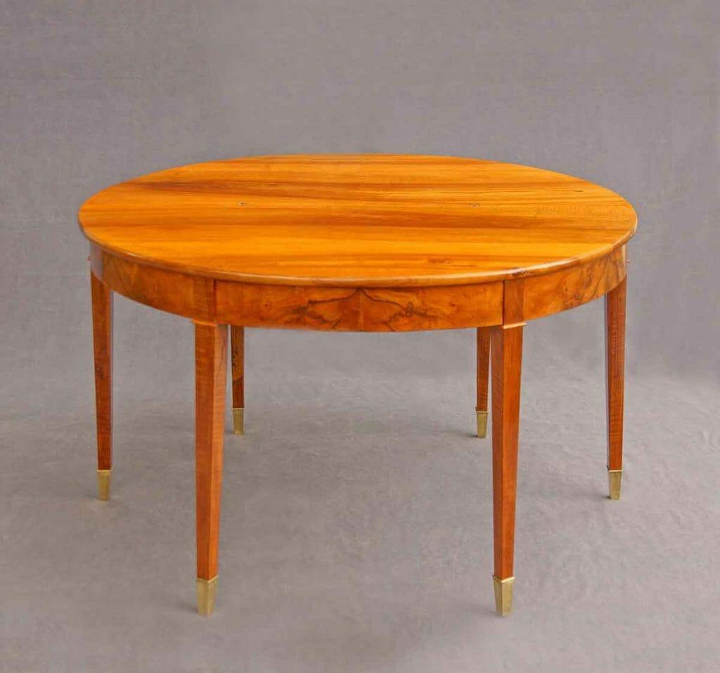 Biedermeier-Tisch rund