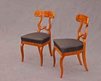Biedermeier-Sitzmoebel